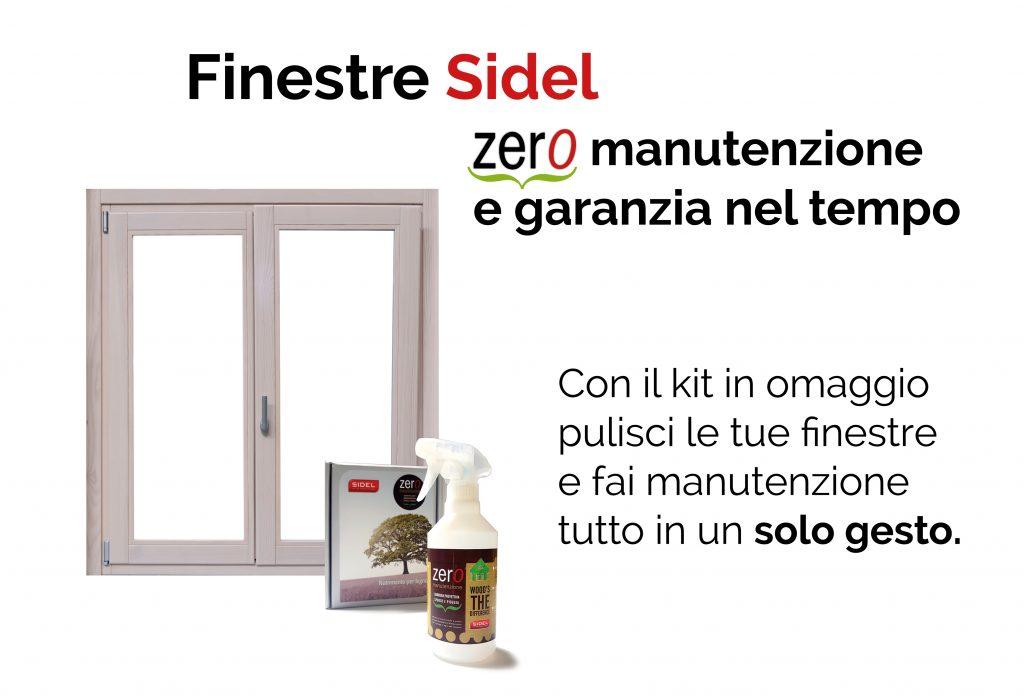 Finestre in legno sidel zero manutenzione e garanzia nel tempo - Manutenzione finestre in legno ...